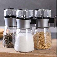 1 pcs Push-Type Salt Dispenser Spice Shaker Salt