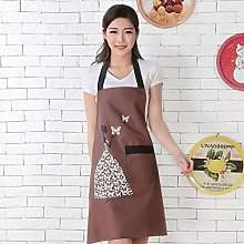 1 Pcs Striped Waterproof Polyester APRON, Bibs for