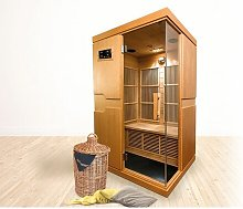 1 Person Infrared Sauna with Heater Freeport Park