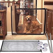1 Piece Magic Dog Gate, Pet Stair Gate Safe Guard