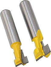 1 Piece of 8 mm Tool Holder, T-Slot milling Cutter