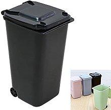 1 Piece Small Trash Can Mini Trash Bin Desk