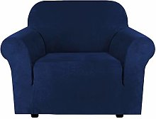 1 Seater Sofa Covers Stretch Velvet Sofa