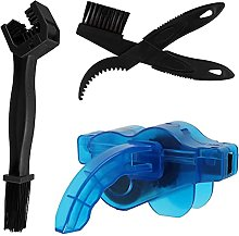 1 Set Bicycle Chain Cleaning Kit Portable Bike