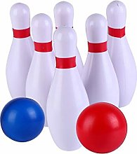 1 Set Colorful Bowling Ball Kit Indoor Outdoor