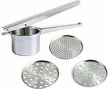 1 set Potato Ricer Stainless Steel With 3