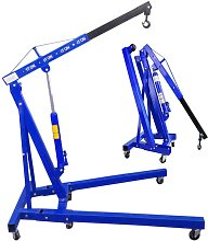 1 Ton Folding Engine Crane Stand Hoist Lift Jack