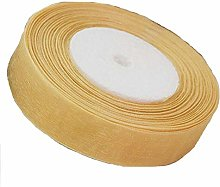 "1 x 50 Yards Roll Organza Ribbon 1"" Inch /"