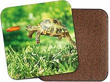 1 x Funny Tortoise Coaster - Turtle Pet Animal