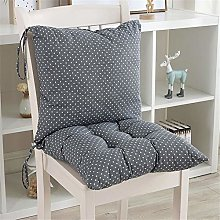 1 x low-back chair cushion with back seat and back