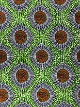 1 Yard African Wax Print Cotton Fabric Ankara