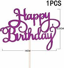 10/1Pcs Cake Decoration Birthday Cake Topper