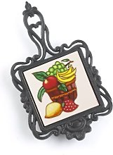 10.2cm Bowl of Fruit Trivet Brambly Cottage
