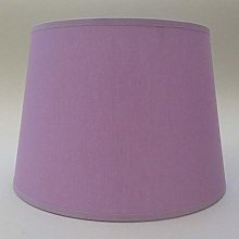 10'' Empire Lilac Cotton Fabric Lampshade