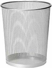 10'' Metal Mesh Silver Wire Bin Rubbish