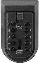 10 Buttons Key Lock Box, Password Key Lock Box