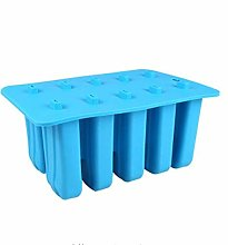 10 Cell Silicone Gel Ice Cream Mould, Popsicle