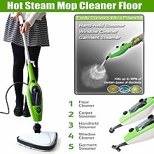 10-in-1 1500W HOT STEAM CLEANER HANDHELD STEAMER