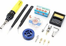 10 in 1 Gas Soldering Iron Set Wireless Portable