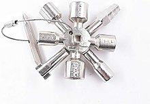 10 IN1 Multifunctional Cross Switch Key Wrench