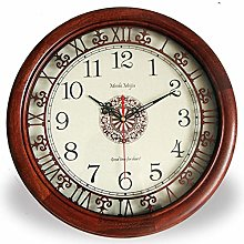 10 Inch Retro Wall Clock, Living Room Clock,