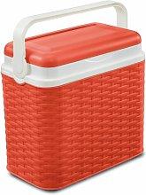 10 L Handheld Cooler Symple Stuff Finish: Red