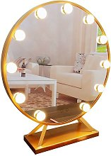10 LED Mirror Lamp - Hollywood Style - Dimmable -
