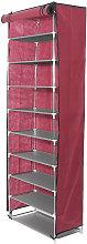 10 Levels Shoe Rack Cupboard Closet Cabinet