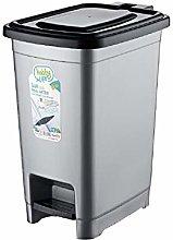10 Litre Plastic Slim Eco Pedal Bin Dustbin