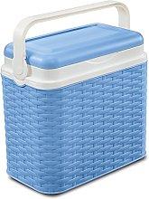 10 Litre Rattan Cooler Box Lavender