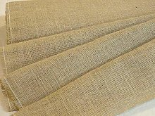 10 Metres Light Hessian Fabric 105cm Wide -