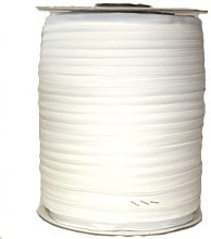 10 Metres White Heavy Duty Continuous Chain Zip on