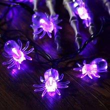 10 Ones Design 50 LED Spider String Lights -