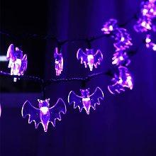 10 Ones Design 70 LED Bat String Lights - 22.6ft