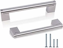 10 Pack 128mm T Bar Handles Stainless Steel