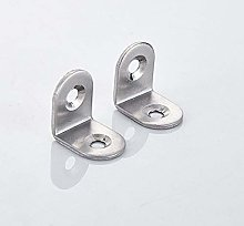 10 Pack Corner Braces Sets,Stainless Steel Angle