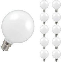 (10 Pack) Crompton Lamps LED G95 Globe 7W BC-B22d