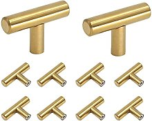 10 Pack Drawer Knobs,Single Hole Cabinet Pulls and