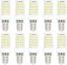 10 Pack E14 Base Dimmable LED Light Bulb,10W,