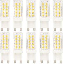 10-Pack G9 LED Lights Bulb 5W Lighting Bulbs,44