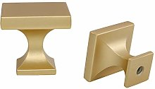10 Pack Gold Cabinet Knobs Drawer Knobs - LONTAN