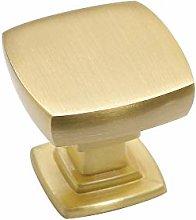 10 Pack Gold Knobs Drawer Knobs Brushed Brass -