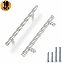 10 Pack Kitchen Door Handles Brushed Nickel -