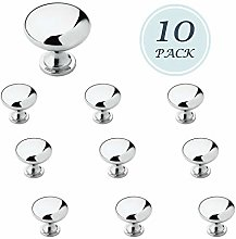 10 Pack Kitchen Dresser Polished Chrome Cabinet