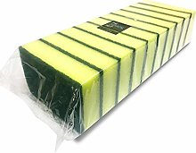 10 Pack of Heavy Duty Catering Sponges / Scourers