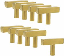 10 Pack Probrico Length 50mm T Bar Kitchen Cabinet