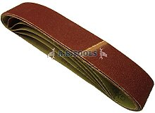 10 Pack Sanding Belts 80 Grit 686 x50mm Tool