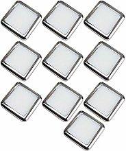 10 Pack | Square LED Mini Plinth Light & Driver