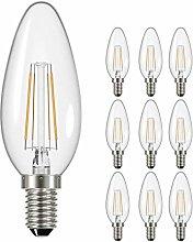 10 Pack - Venture DOM176 4W LED Vintage Filament