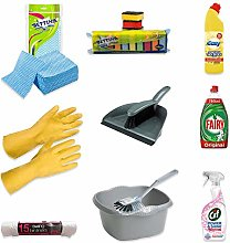 10+ pc Ultimate Home Cleaning Kit - Easy, Fairy,